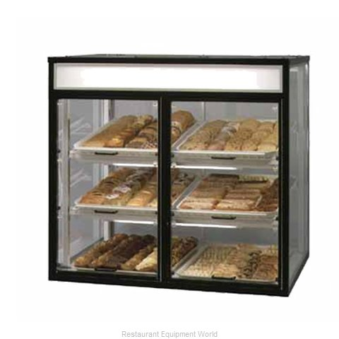 Federal Industries CT-6 Display Case Non-Refrigerated Countertop