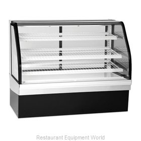 Federal Industries ECGD-77 Display Case, Non-Refrigerated Bakery