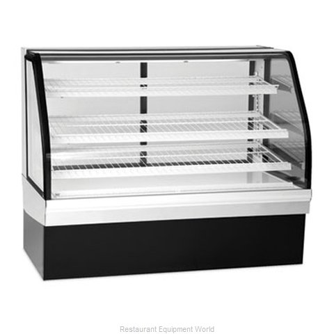 Federal Industries ECGR-77 Display Case, Refrigerated Bakery (Magnified)