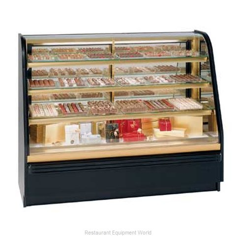 Federal Industries FCCR-4 Display Case, Chocolate