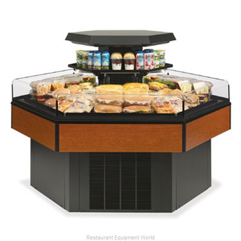 Federal Industries HXISS60SC Display Case Refrigerated Self-Serve