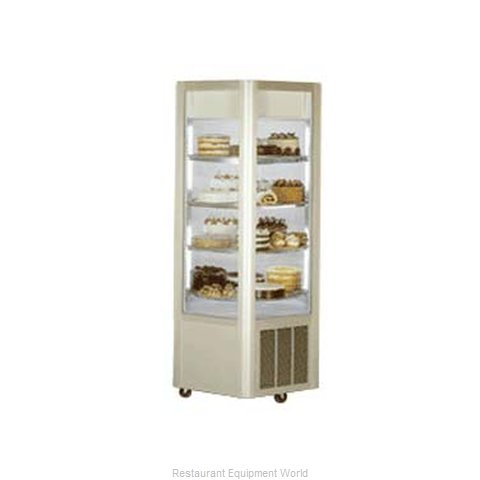 Federal Industries HXR-3575DZ Display Case, Vertical Glass Sides
