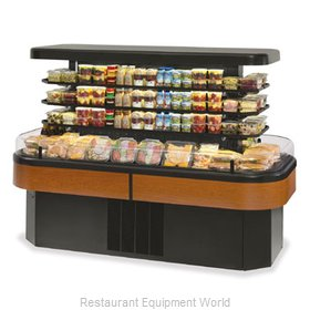 Federal Industries IMSS84SC-2 Display Case, Refrigerated, Self-Serve