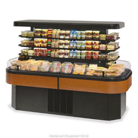 Federal Industries IMSS84SC-3 Display Case Refrigerated Self-Serve