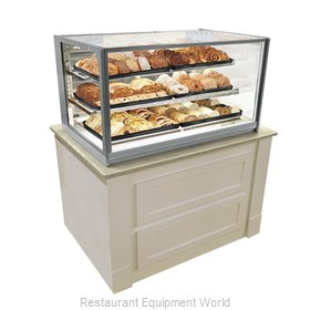 Federal Industries ITD4826 Display Case, Non-Refrigerated Countertop