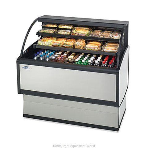 Federal Industries LPRSS4 Display Case, Refrigerated, Self-Serve