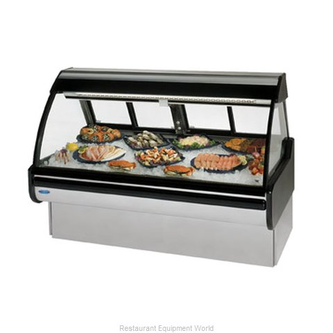 Federal Industries MCG-454-DF Display Case Deli Fish Chicken (Magnified)
