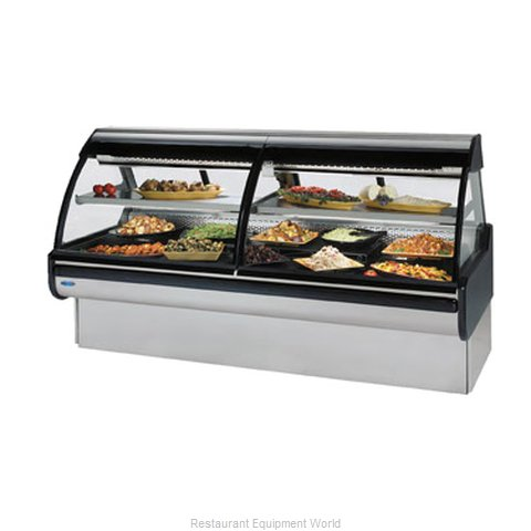 Federal Industries MCG-854-DC Display Case Refrigerated Deli