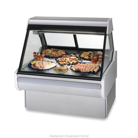 Federal Industries MSG-1054-DF Display Case Deli Fish Chicken