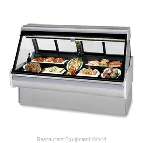 Federal Industries MSG-654-DM Display Case, Red Meat Deli