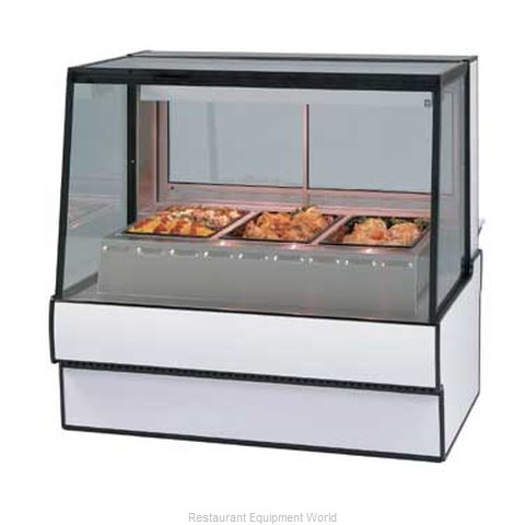 Federal Industries SG5948HD Display Case Heated Deli Floor Model (Magnified)