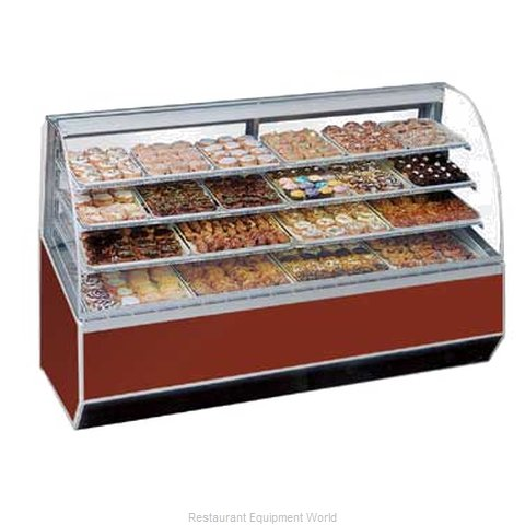Federal Industries SN-48 Display Case, Non-Refrigerated Bakery