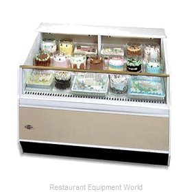 Federal Industries SN-4CD-SS Display Case, Refrigerated, Self-Serve