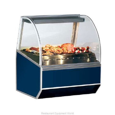 Federal Industries SN-4HD Display Case Heated Deli Floor Model (Magnified)