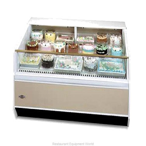 Federal Industries SN-6CD-SS Display Case Refrigerated Self-Serve
