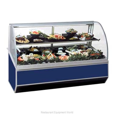 Federal Industries SN-6CD Display Case Refrigerated Deli