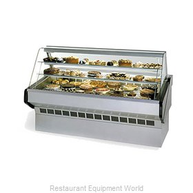 Federal Industries SQ-3B Display Case, Non-Refrigerated Bakery