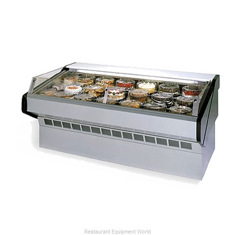Federal Industries SQ-3CBSS Display Case Refrigerated Self-Serve