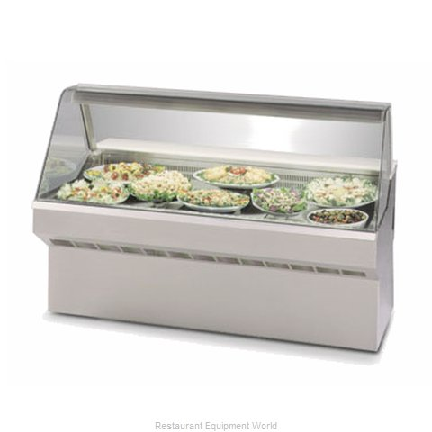 Federal Industries SQ-3CD Display Case Refrigerated Deli