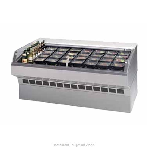 Federal Industries SQ-3CDSS Display Case Refrigerated Self-Serve