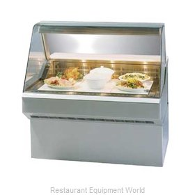 Federal Industries SQ-3HD Display Case Heated Deli Floor Model