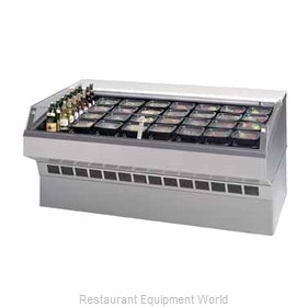 Federal Industries SQ-4CDSS Display Case, Refrigerated, Self-Serve