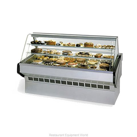 Federal Industries SQ-8B Display Case Non-Refrigerated Bakery