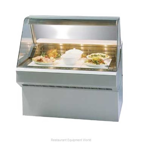 Federal Industries SQ-8HD Display Case Heated Deli Floor Model (Magnified)