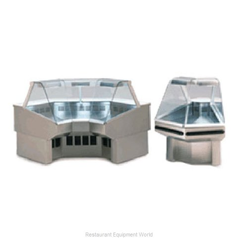 Federal Industries SQROC45SSR Display Case, Refrigerated Deli