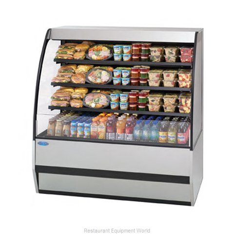 Federal Industries SSRPF7752 Display Case Refrigerated Self-Serve