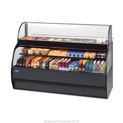 Federal Industries SSRSP5952 Display Case Refrigerated Self-Serve