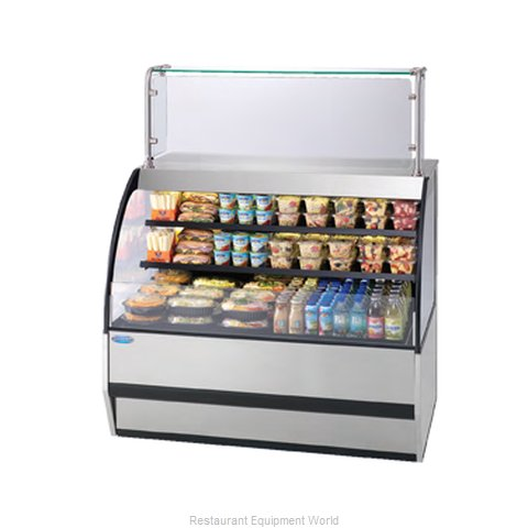 Federal Industries SSRVS7742 Display Case Refrigerated Self-Serve