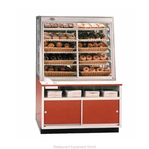 Federal Industries WDC-42 Display Case, Non-Refrigerated Bakery