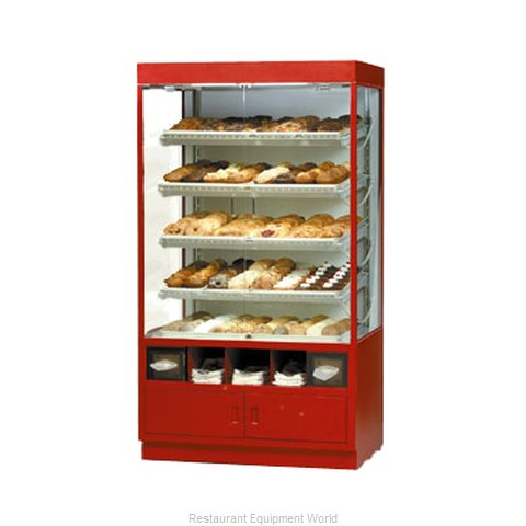 Federal Industries WDC4276SS Display Case, Non-Refrigerated Bakery