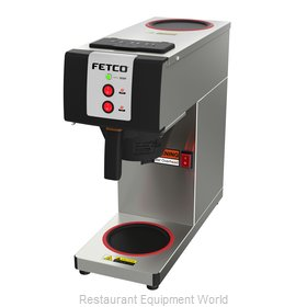 Fetco CBS-2121-PW Coffee Brewer for Glass Decanters