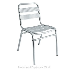 Florida Seating AL-01 Chair, Side, Stacking, Outdoor
