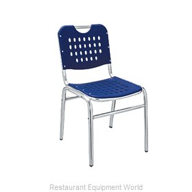 Florida Seating AL-03-0 Chair, Side, Stacking, Outdoor