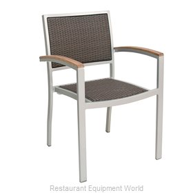 Florida Seating AL-5625 Chair, Armchair, Stacking, Outdoor