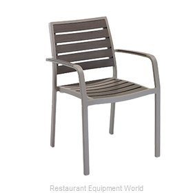 Florida Seating AL-5700-A Chair, Armchair, Stacking, Outdoor