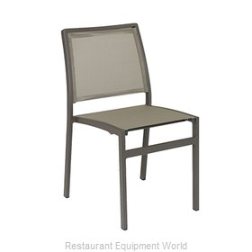 Florida Seating AL-5724S Chair, Side, Stacking, Outdoor