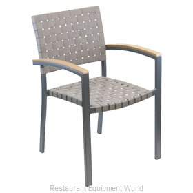Florida Seating AL-5800A Chair, Armchair, Stacking, Outdoor