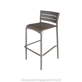 Florida Seating BAL-5000 S BRONZE Bar Stool, Stacking, Outdoor