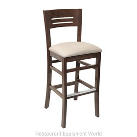Florida Seating CN-203B GR1 Bar Stool, Indoor