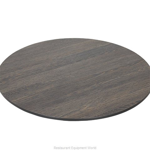 Florida Seating ELEMENT MALI WENGE 30 Table Top, Laminate (Magnified)