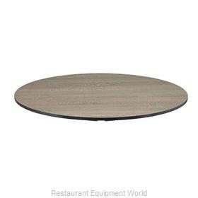Florida Seating ELEMENT SAWCUT OAK 36 Table Top, Laminate