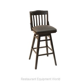 Florida Seating FLS-02BSW GR7 Bar Stool, Swivel, Indoor