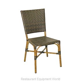 Florida Seating RT-03 SAF/BAMBOO Chair, Side, Stacking, Outdoor