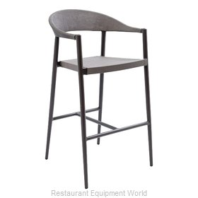 Florida Seating TEX-01B Bar Stool, Outdoor
