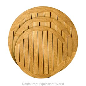Florida Seating TK-TP24ROUND Table Top, Wood