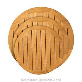 Florida Seating TK-TP36ROUND Table Top, Wood